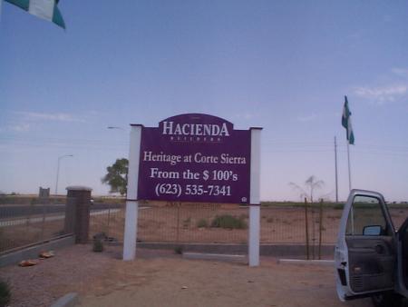 Hacienda Az Builder History