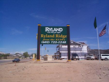 Ryland AZ Builder History
